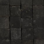 Calcar Black Limestone 10x10x3 cm