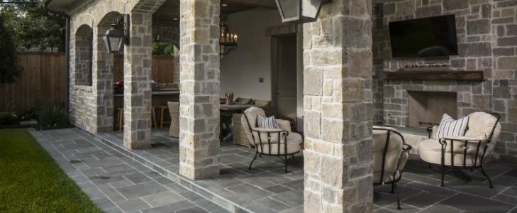 Terase si curti interioare cu piatra naturala (4)